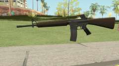M16A2 Partial Desert Camo (Ext Mag) para GTA San Andreas