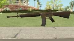 M16A2 Full Desert Camo (Ext Mag) para GTA San Andreas