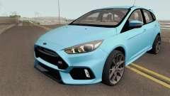 Ford Focus RS 2017 HQ para GTA San Andreas
