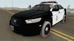 Ford Taurus Police Interceptor LAPD 2015