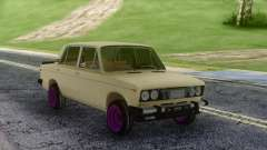 VAZ 2106 russo Deriva para GTA San Andreas