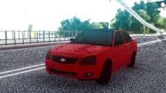 VAZ 2170 Limousine Vermelho para GTA San Andreas