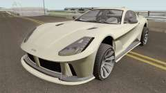 Grotti Itali GTO GTA V High Quality para GTA San Andreas
