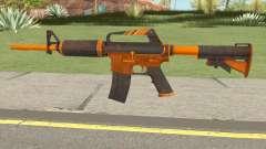 CS:GO M4A1 (Alloy Orange Skin) para GTA San Andreas