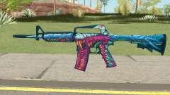 CS:GO M4A1 (Hyper Beast Skin) para GTA San Andreas