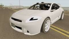 Mitsubishi Eclipse Clean JDM 2009 para GTA San Andreas