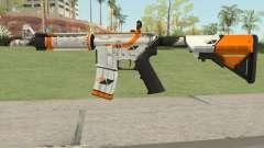 CS-GO M4A4 Asiimov para GTA San Andreas