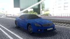 Mercedes-Benz SL65 Blue para GTA San Andreas