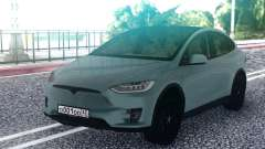 Tesla Model X Grey para GTA San Andreas