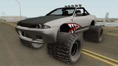 Nissan Skyline R32 Cabrio Off Road Shark para GTA San Andreas