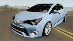 Toyota Avensis 2016 MQ para GTA San Andreas