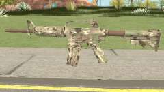 CS:GO M4A1 (Varicamo Skin) para GTA San Andreas