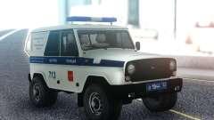 UAZ Caçador de PPP para GTA San Andreas