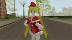 Usagi Tsukino in Christmas Clothes para GTA San Andreas