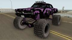 Pontiac GTO Monster Truck Camo 1965 para GTA San Andreas