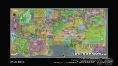 G-Soldier LSRP Detailed Map Radar para GTA San Andreas