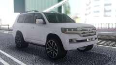 Toyota Land Cruiser 200 Offroad White para GTA San Andreas