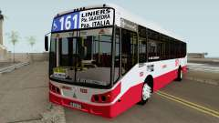 Todobus Pompeya II Agrale MT15 Linea 161 Interno para GTA San Andreas