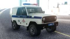 UAZ Caçador VAI para GTA San Andreas