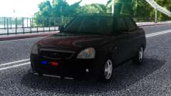 Lada Priora Police Lights para GTA San Andreas