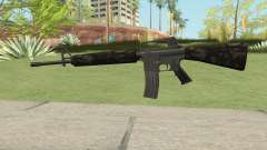 M16A2 Partial Forest Camo (Ext Mag) para GTA San Andreas