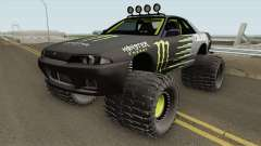 Nissan Skyline R32 Off Road Monster Energy para GTA San Andreas