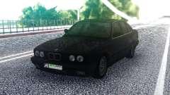 BMW E34 525 Black para GTA San Andreas