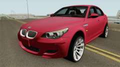BMW M5 E60 HQ IVF para GTA San Andreas