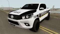 Toyota Hilux Georgia Police HQ para GTA San Andreas