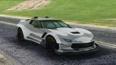 Chevrolet Corvette Sport Camo para GTA San Andreas