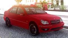 A Mercedes-Benz С55 AMG W203 para GTA San Andreas