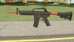 CS:GO M4A1 (Orange Accents Skin) para GTA San Andreas
