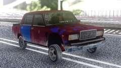 VAZ 2107 Cor para GTA San Andreas