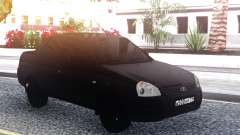 Lada Priora Black para GTA San Andreas