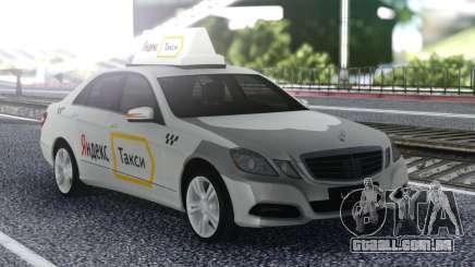 Mercedes-Benz E-Class De Um Táxi Yandex para GTA San Andreas