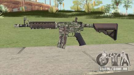 CS-GO M4A4 Jungle Tiger para GTA San Andreas