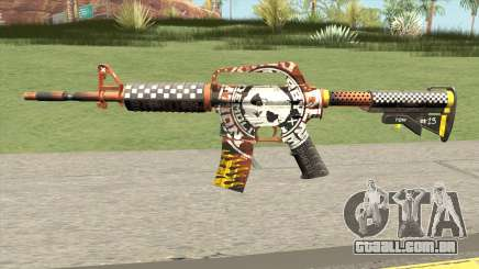 CS:GO M4A1 (Demolition V1 Skin) para GTA San Andreas