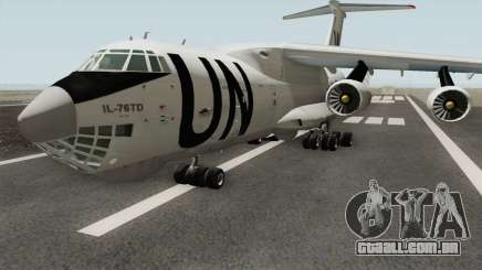 Ilyushin Il-76TD United Nations para GTA San Andreas