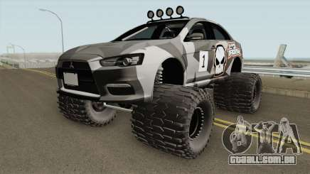 Mitsubishi Evolution X Off Road No Fear para GTA San Andreas