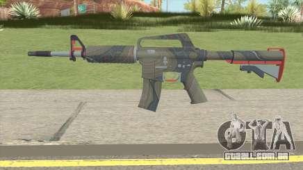 CS:GO M4A1 (Brifing Skin) para GTA San Andreas