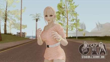 White Girl Heat Kasumi DoA para GTA San Andreas
