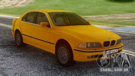 BMW E39 530d Yellow para GTA San Andreas