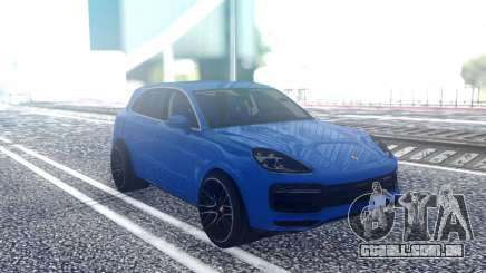 Porshe Cayenn Turbo para GTA San Andreas