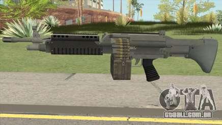 Combat MG (Default Mag) GTA V para GTA San Andreas