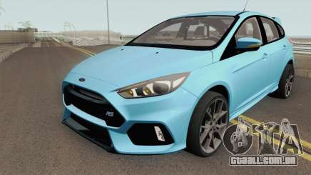 Ford Focus RS 2017 HQ para GTA San Andreas