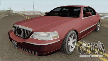Lincoln Town Car (SA Style) 2011 para GTA San Andreas