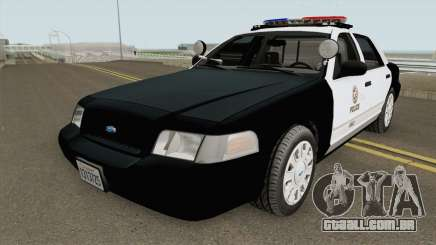 Ford Crown Victoria Police Interceptor LAPD 2011 para GTA San Andreas