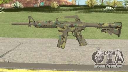 CS:GO M4A1 (Forest Boreal Skin) para GTA San Andreas