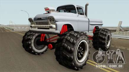 Chevrolet Apache Monster Truck 1958 V1 para GTA San Andreas