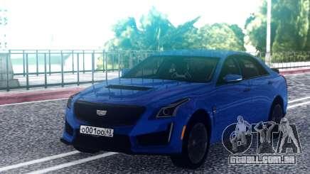 Cadillac CTS-V Blue para GTA San Andreas